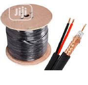 RG59 Coaxial Cable + Power For CCTV Security Camera - 305m | Accessories & Supplies for Electronics for sale in Lagos State, Ikeja