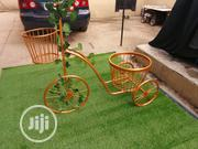 Metal Gold Bicycle With Flower Pot | Garden for sale in Ondo State, Oka