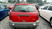 Pontiac Vibe 2003 Red | Cars for sale in Abuja (FCT) State, Kubwa
