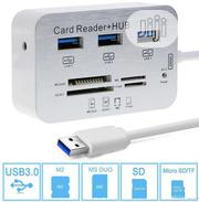 3.0/3.1 USB Hub Combo MS/ M2/ SD/TF Card Reader Adapters | Computer Accessories  for sale in Lagos State, Ikeja