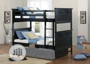 LERABARI Bunk Bed (Single Beds - 6 X 3 Ft) in Black Finish | Furniture for sale in Lagos State, Ajah