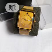 Apple Gold Unisex Wrist Watch 2019 Fashion Trends. | Smart Watches & Trackers for sale in Edo State, Egor