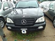 Mercedes-Benz M Class 2004 Black | Cars for sale in Edo State, Oredo