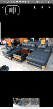 L Shape Leather Sofa | Furniture for sale in Lagos State, Ojo