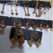 Original GL Earring 001 ( Non Fading) - Gold | Jewelry for sale in Lagos State, Ojodu