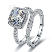 Angelina Beautiful Ladies Engagement Silver Ring | Jewelry for sale in Lagos State, Ojodu
