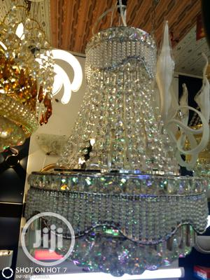 High Quality Silver Crystal Chandelier Lights