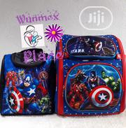Captain America Backpack And Lunch Bag | Bags for sale in Lagos State, Lekki Phase 2