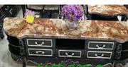Classy Marble Plasma Shelves 1.5m | Furniture for sale in Lagos State, Ojo