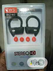 Bluetooth Headset Earbuds With Hook | Headphones for sale in Lagos State, Ikeja