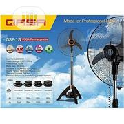 "Optional 18"" QASA Fan Ac/Dc Or Rechargeable Fan 