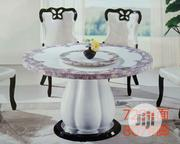 Round Marble Dining by 6 Chairs | Furniture for sale in Lagos State, Victoria Island