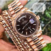 Rolex Wristwatch With Gold Bracelet Available as Seen Order Yours Now | Watches for sale in Lagos State, Lagos Island