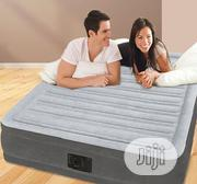 Intex Double Air Bed With Inbuilt Electric Pump   Furniture for sale in Lagos State, Ikeja
