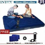 Intex Double Airbed With 2 Pillow N Pump | Home Accessories for sale in Lagos State, Ikeja