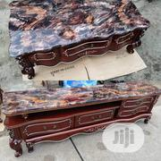 Royal Marble Tv Shelf and Center Table | Furniture for sale in Lagos State, Ojo