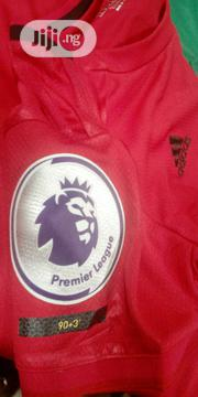 Printing On Jersey With Premirship Badge | Sports Equipment for sale in Lagos State, Ikeja