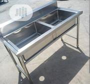 Industrial Double Bowl Sink | Restaurant & Catering Equipment for sale in Lagos State, Ojo