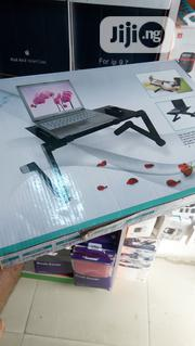 Foldable Laptop Stand With Cooling Fan | Computer Accessories  for sale in Lagos State, Ikeja