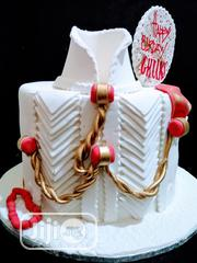 Chocolate,Vanilla Round Birthday Cake | Party, Catering & Event Services for sale in Oyo State, Ibadan