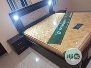 6x6 Bedframe And Imported Orthopedic Spring Mattress | Furniture for sale in Lagos State, Ojo