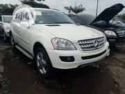 Mercedes-Benz M Class 2008 White   Cars for sale in Lagos State, Apapa