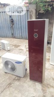 Full Corper Low Voltage Foreign Used 2HP SAMSUNG Standing AC   Home Appliances for sale in Lagos State, Lagos Mainland