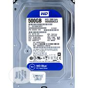 "WD Blue 500GB Desktop Hard Disk Drive -7200 RPM SATA 3.5"" - WD5000AZLX 