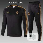 Real Madrid Black Tracksuit   Sports Equipment for sale in Lagos State, Ikoyi