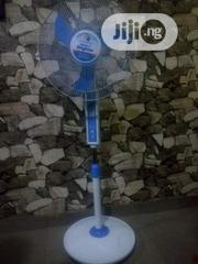 Rechargeable Solar Energy Standing Fan With Its Panel. | Home Appliances for sale in Enugu State, Enugu