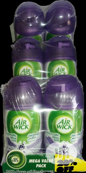 Airwick Freshmatic Automatic Air Freshener Refill - Pack Of 6