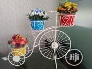 Quality Metal Wrought Tricycle Planter Holder On Sales | Manufacturing Services for sale in Abuja (FCT) State, Bwari