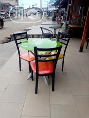 Good Quality Resturant Table With 3 Chairs. | Furniture for sale in Abuja (FCT) State, Garki 1