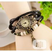 Fancy Leather Bracelet Watch - Brown   Watches for sale in Lagos State, Ikeja
