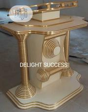Original Durable New Modern Golden Church Pulpit | Furniture for sale in Lagos State, Ojo