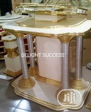 Exquisite Durable New Modern Golden Church Pulpit With 2 Flower Vasts | Furniture for sale in Lagos State, Ojo