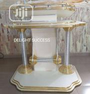 Standard Newly Design Modern Church Golden Pulpit | Furniture for sale in Lagos State, Ojo