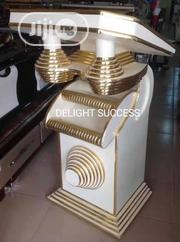 High Class Trusted Modern Golden Church Pulpit | Furniture for sale in Lagos State, Ojo