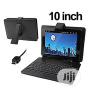 Tablet PC Leather Case With Mini USB - 10inch | Accessories for Mobile Phones & Tablets for sale in Lagos State, Ikeja