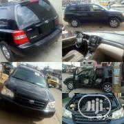 Toyota Highlander 2002 Black | Cars for sale in Lagos State, Lagos Mainland