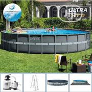 Intex 16ft By 48in ULTRA XTR Pool With Filter Ladder N Cover | Sports Equipment for sale in Lagos State, Ikeja