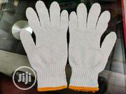 Cotton Safety Hand Gloves White Color. | Safety Equipment for sale in Lagos State, Agboyi/Ketu