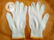 Cotton Safety Hand Gloves White Color. | Safety Equipment for sale in Lagos State, Agege