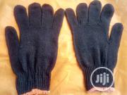 Cotton Safety Hand Gloves Black Color. | Safety Equipment for sale in Lagos State, Agege