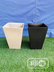 Adorable White And Black Flower Planter For Sale | Garden for sale in Enugu State, Igbo Eze South