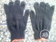 Cotton Safety Hand Gloves Black Color. | Safety Equipment for sale in Lagos State, Egbe Idimu