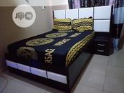 A High Quality 4by6 Bed Bed With Bed Side | Furniture for sale in Edo State, Ikpoba-Okha