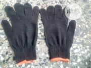 Cotton Safety Hand Gloves Black Color. | Safety Equipment for sale in Lagos State, Epe