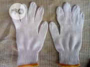 Cotton Safety Hand Gloves White Color. | Safety Equipment for sale in Lagos State, Alimosho