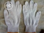 Cotton Safety Hand Gloves White Color. | Safety Equipment for sale in Lagos State, Amuwo-Odofin